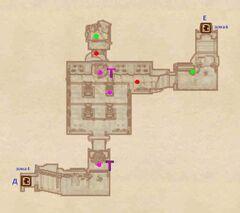 Костяной Нарост - Руины. План