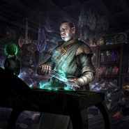 Mistveil Enchanter card art
