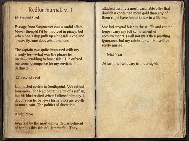 File:Redfur Journal, Vol 1..png