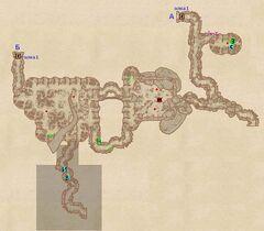 Мрачный Лабиринт - Подземелье. План