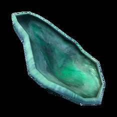 Шляпка зелёной хлороцибории