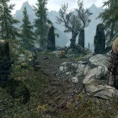 Totem Peryite z gry The Elder Scrolls V: Skyrim