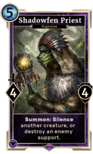 Shadowfen Priest (Legends)