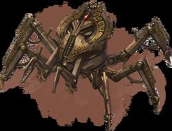 Двемерский паук Online (концепт-арт)