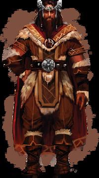 Йорунн Король Скальд (концепт-арт)