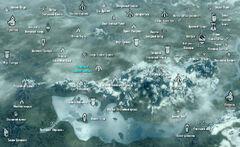 Тайна старых руин - карта