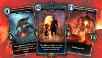 Fauces de Oblivion cartas