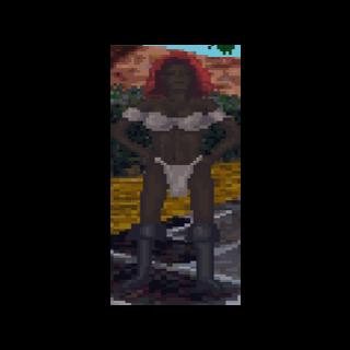 Kobieta z Hammerfell w The Elder Scrolls: Arena