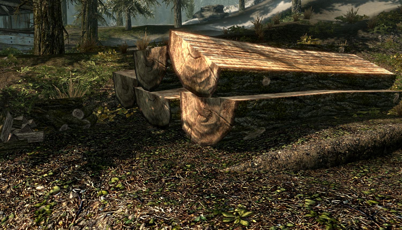 How to get a sawn log. Skyrim: construction