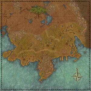 Длинное побережье (карта)