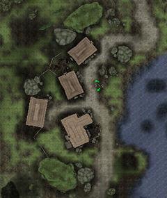 Поселение у воды. План