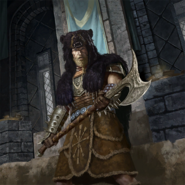 Ulfric's Housecarl card art