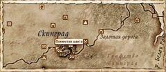 Покинутая шахта. Карта