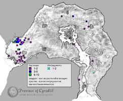 Фенхель карта