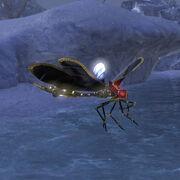 Мерцающая дова-муха