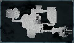 Пещера Холодный Берег - план