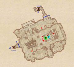 Святилище Дагона. План