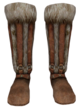 Fur Boots (Oblivion) Female