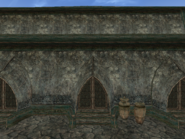 Mournhold Great Bazaar Armory Exterior View