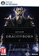Skyrim Dragonborn PC Cover