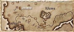 Унылая шахта. Карта