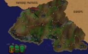 Фалинести карта