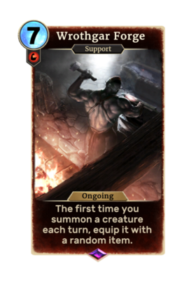 Card-Wrothgar Forge