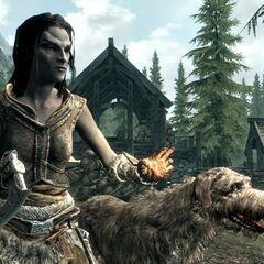 Dunmer z gry The Elder Scrolls V: Skyrim