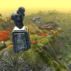 Krajobraz Manii z gry The Elder Scrolls IV: Shivering Isles