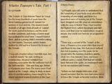 Master Zoaraym's Tale, Part 1