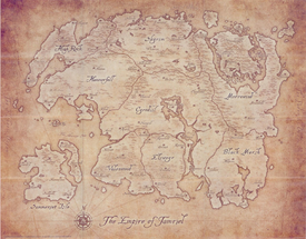 Tamriel Anthology Map