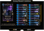 Zumog Phoom's Ambition Deck 1