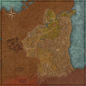 Вестмаркские верески (карта)