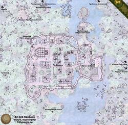 Карта города Лейавиин