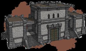 Крепостные стены (концепт-арт)