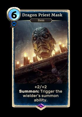 Маска драконьего жреца (Card)