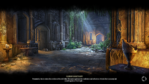 Eldbur Sanctuary Loading Screen