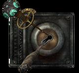 Скелетный ключ в действии