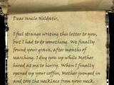 Apologies to Uncle Neldatir