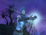 Vierge au clair de lune