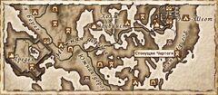 Стонущие Чертоги. Карта