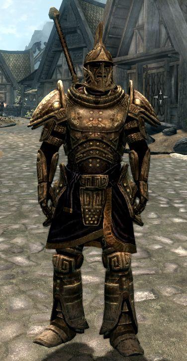 Concept Art For Dwemer Armor Skyrim