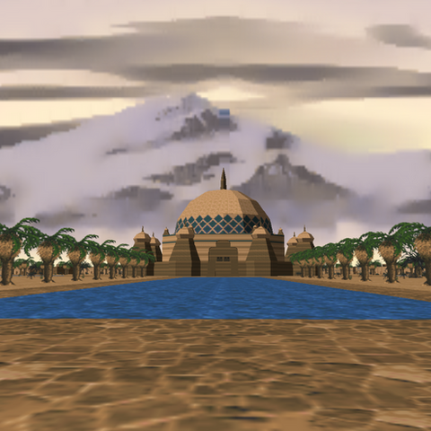 Pałac w Sentinel w The Elder Scrolls II: Daggerfall
