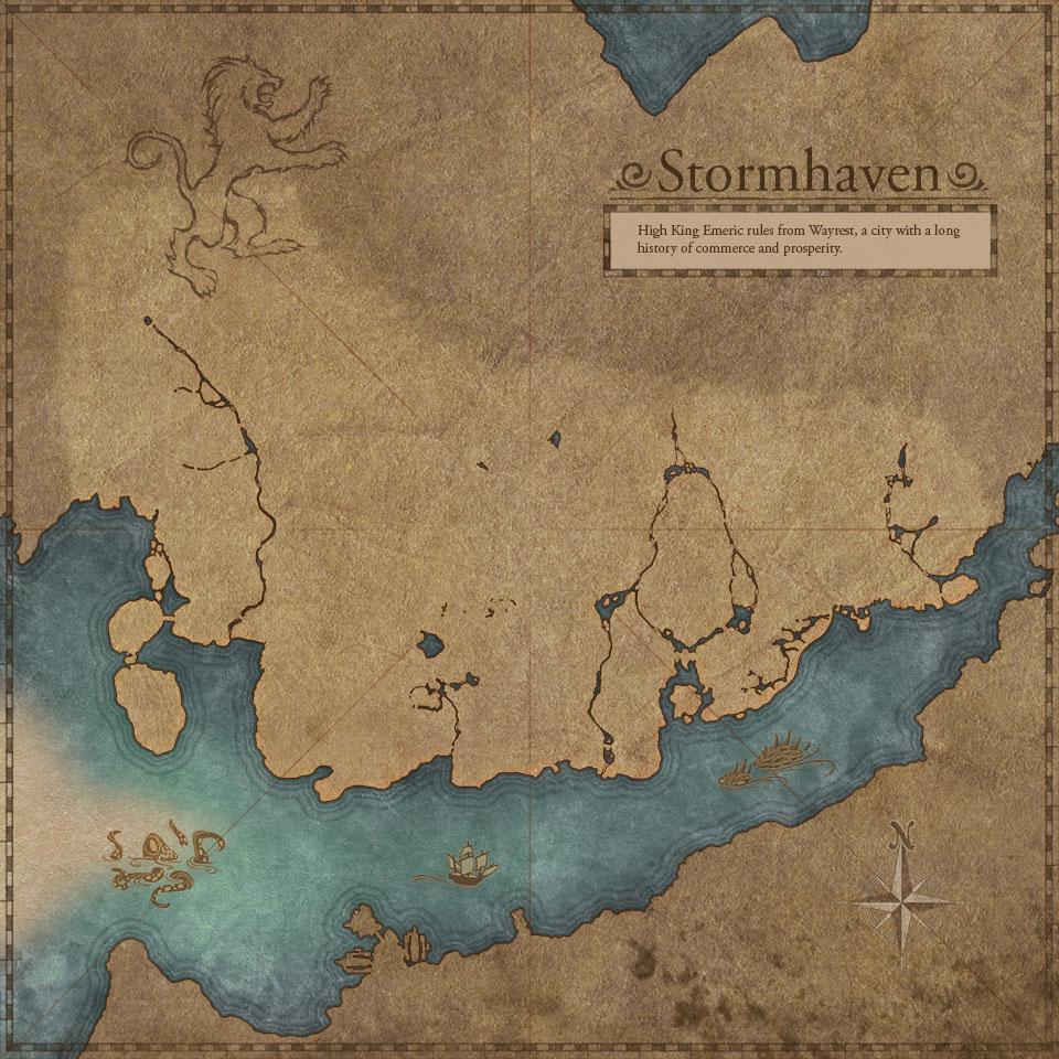 Stormhaven Map Stormhaven Elder Scrolls