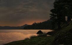 Topal Bay Sunset