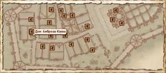 Дом Амброза Канна. Карта