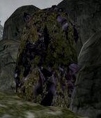 Эбонитовая жила возле Вороньей Скалы