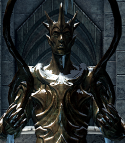 Auriel statua