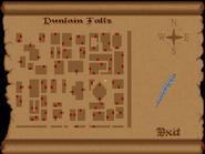 Dunlain Falls full map