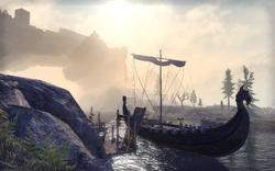 Western Skyrim Docks